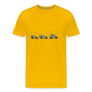 Defender - Premium-T-shirt herr