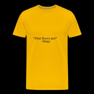 stingy quote - Men's Premium T-Shirt