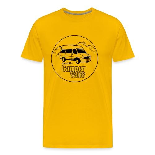 Campervans Van Runde - Männer Premium T-Shirt