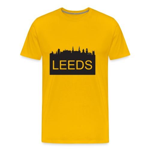 TYS - Leeds Skyline - Men's Premium T-Shirt