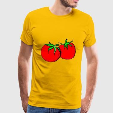 tomater - Premium T-skjorte for menn
