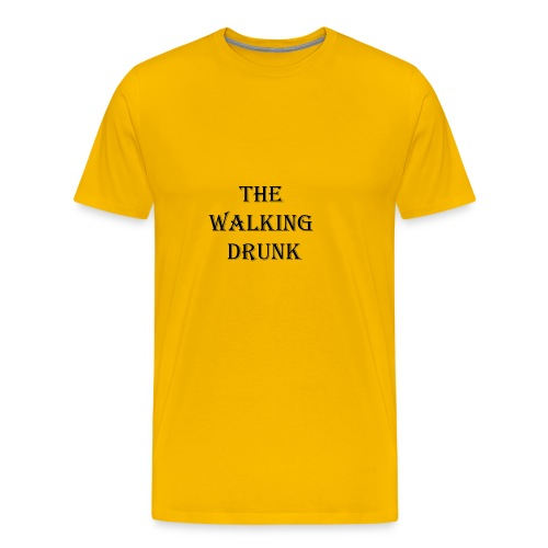 The Walking Drunk - Männer Premium T-Shirt