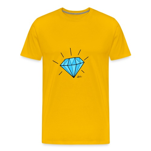 diamant-22466 - Maglietta Premium da uomo