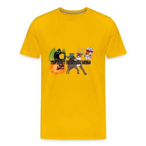 The Night jul Ended - Herre premium T-shirt