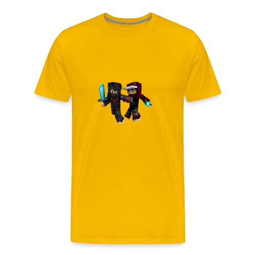 2 Sexy Typen - Männer Premium T-Shirt