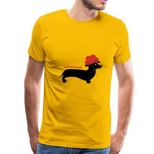 Madame Krax - Schwarzwaldi - Männer Premium T-Shirt