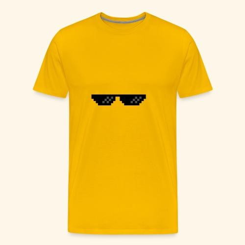 U got thugged - Men's Premium T-Shirt