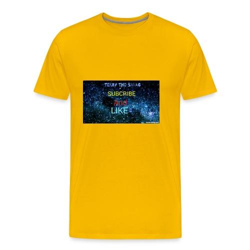 I made it my self - Men's Premium T-Shirt