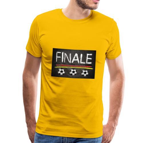 Finale Deutschland - Männer Premium T-Shirt
