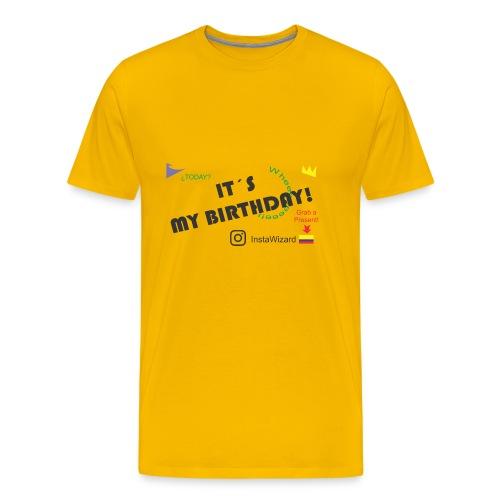 Birthday - Insta Wizard - Men's Premium T-Shirt