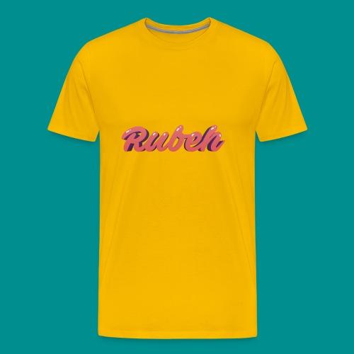Rubeh Snapback - Mannen Premium T-shirt