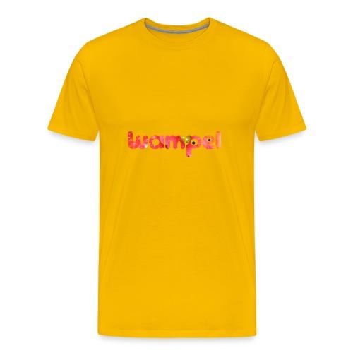 Wampel logo - Männer Premium T-Shirt