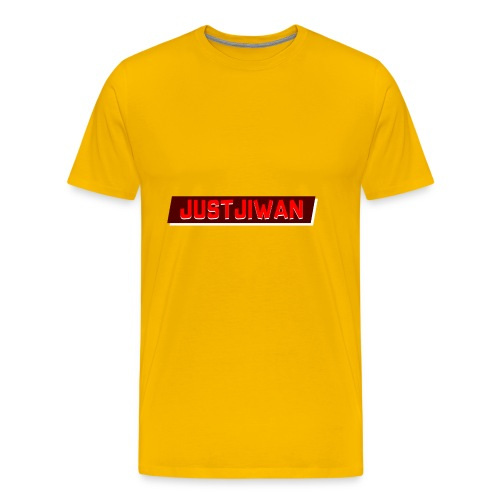 JustJiwan Snapback - Mannen Premium T-shirt