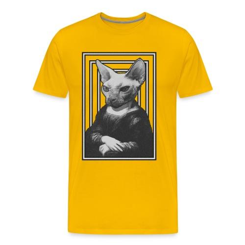 CAT LISA - Camiseta premium hombre