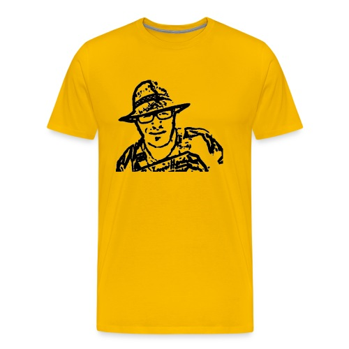 Rigotti LogoSW Transparent - Männer Premium T-Shirt