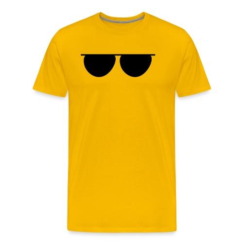GLASSES - Camiseta premium hombre