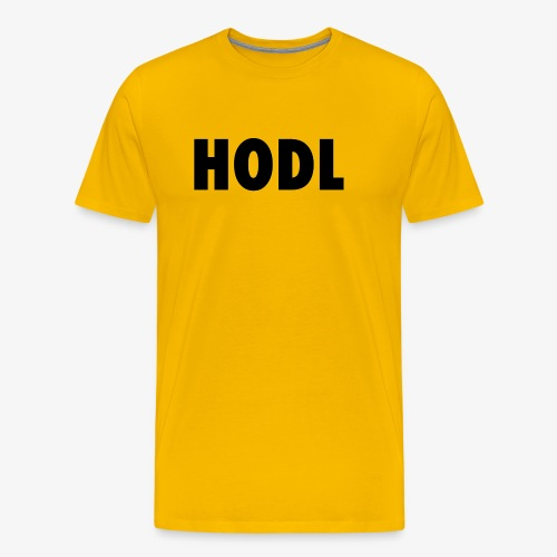 JUST HODL - Mannen Premium T-shirt