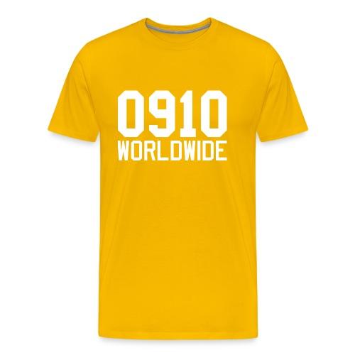 0910 WORLDWIDE CREW CAP - Premium-T-shirt herr