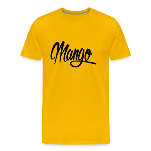 Mango Black Design Women - Mannen Premium T-shirt