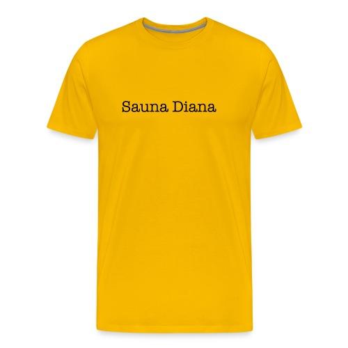 t shirt sauna diana wielrennen - Mannen Premium T-shirt