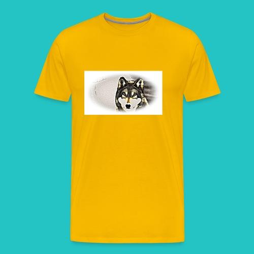 Bluza Wilk - Koszulka męska Premium