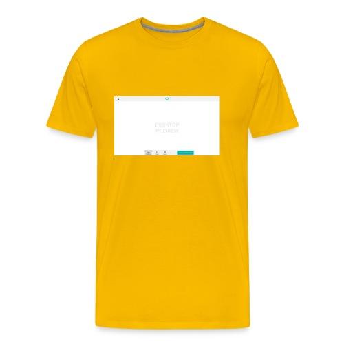 02_Preview_theme - Männer Premium T-Shirt