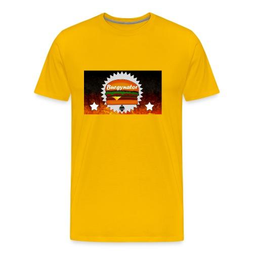 BURGYNATOR - Männer Premium T-Shirt