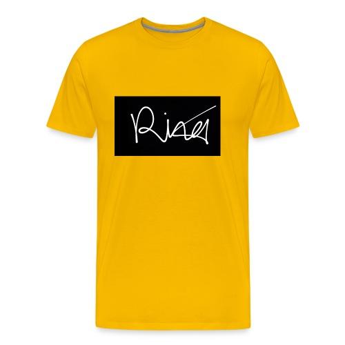 Autogramm - Männer Premium T-Shirt