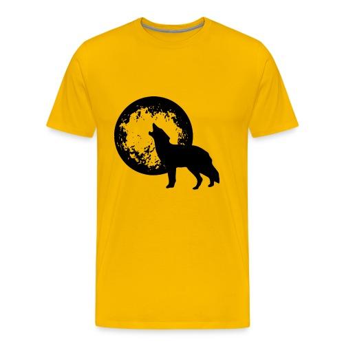 howling 160038 1280 - Männer Premium T-Shirt