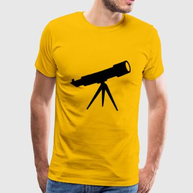 teleskop - Premium T-skjorte for menn