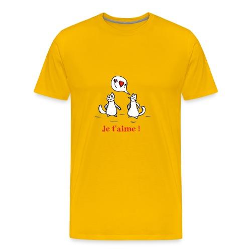 Ah, l'amour ! - T-shirt Premium Homme