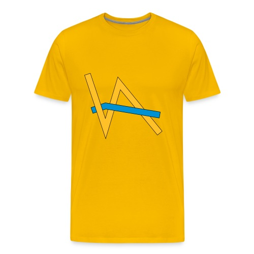 Vivian Aktjef - Kleidung (Kontrast) - Männer Premium T-Shirt