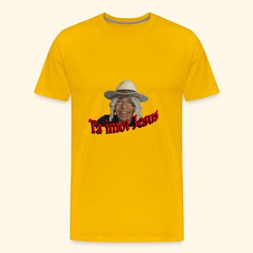 Moppen på toppen - Premium T-skjorte for menn