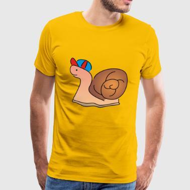 slak slak - Mannen Premium T-shirt
