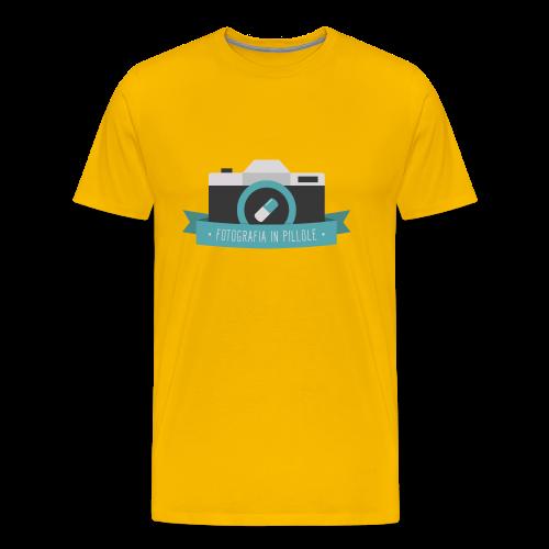 T-Shirt Fotografia in Pillole - Maglietta Premium da uomo