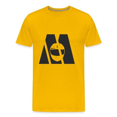 Motocyc Logo, schwarz - Männer Premium T-Shirt