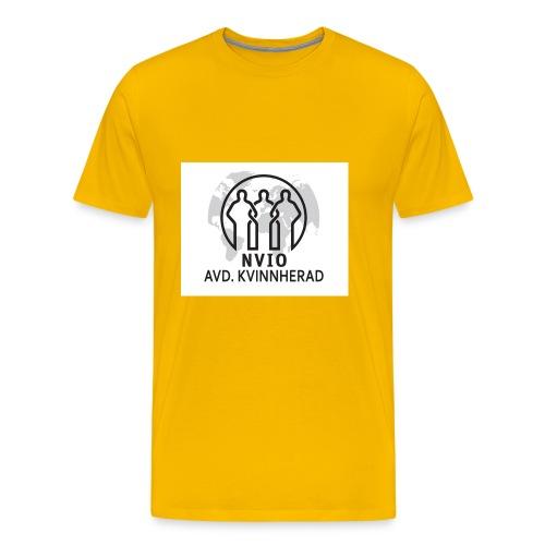 NVIO-Kvinnherad - Premium T-skjorte for menn