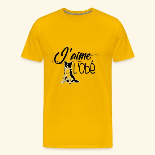 obejump - T-shirt Premium Homme