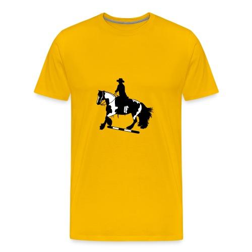 Tinker Galopp I Stange - Männer Premium T-Shirt