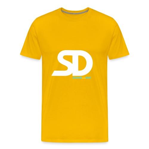 SD SNAPBACK - Mannen Premium T-shirt