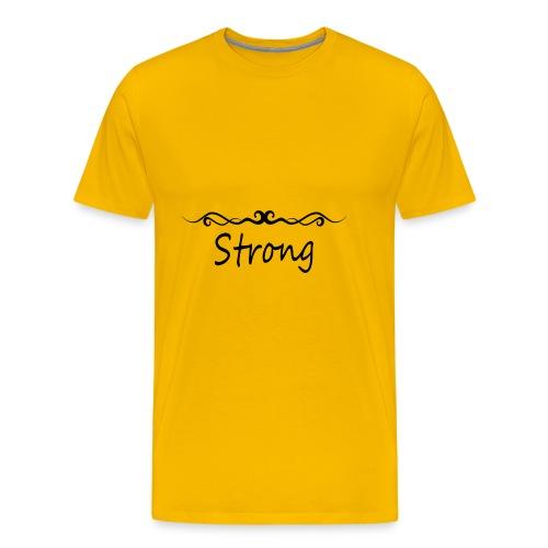 Strong - Männer Premium T-Shirt