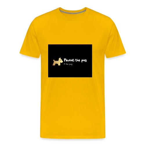 Peanut the Pug Edition - Men's Premium T-Shirt