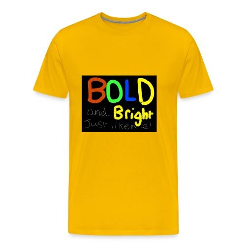 Bold and bright - Men's Premium T-Shirt