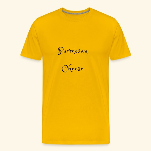 Parmesan Cheese - Men's Premium T-Shirt