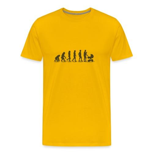 Vater Design - Männer Premium T-Shirt