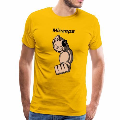 Miezeps Bodybuilding Powerlifting Lifting Gym - Männer Premium T-Shirt