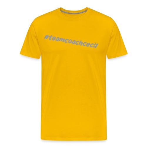 teamcoachcecil grau - Männer Premium T-Shirt