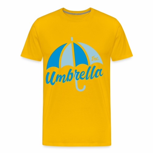 Umbrella Inc. Tipo under logo - Camiseta premium hombre