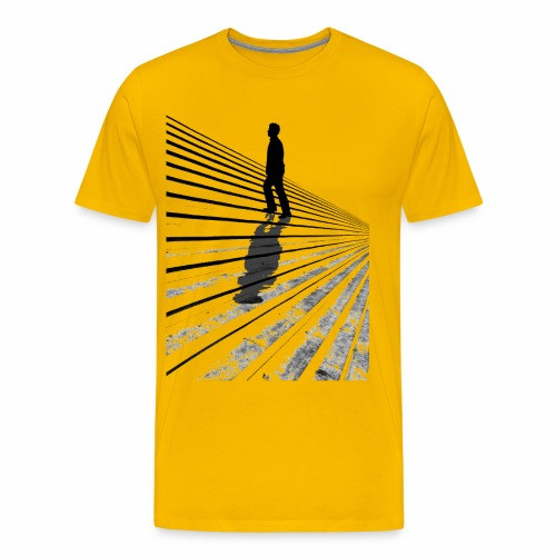 The steps - Men's Premium T-Shirt