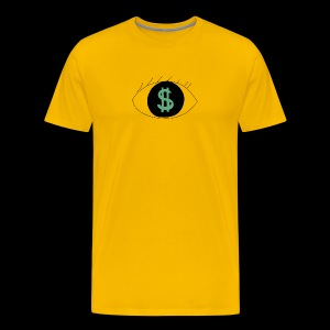 Eyes worlds $ - T-shirt Premium Homme